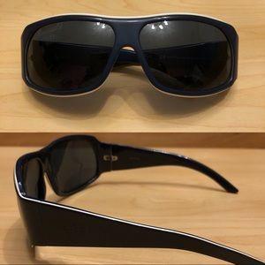 Authentic Gucci Sunglasses Navy/White